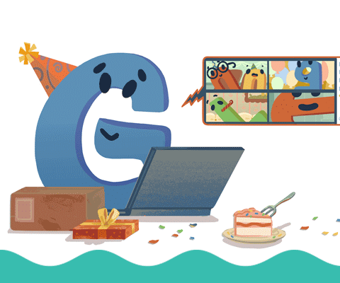 El Gigante del Internet Google celebra 22 Años