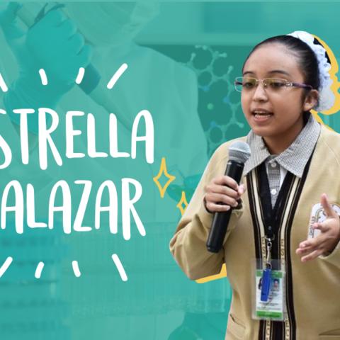 Estrella Salazar, Una Joven  de 16 Años que Busca Ponerle Fin al COVID-19